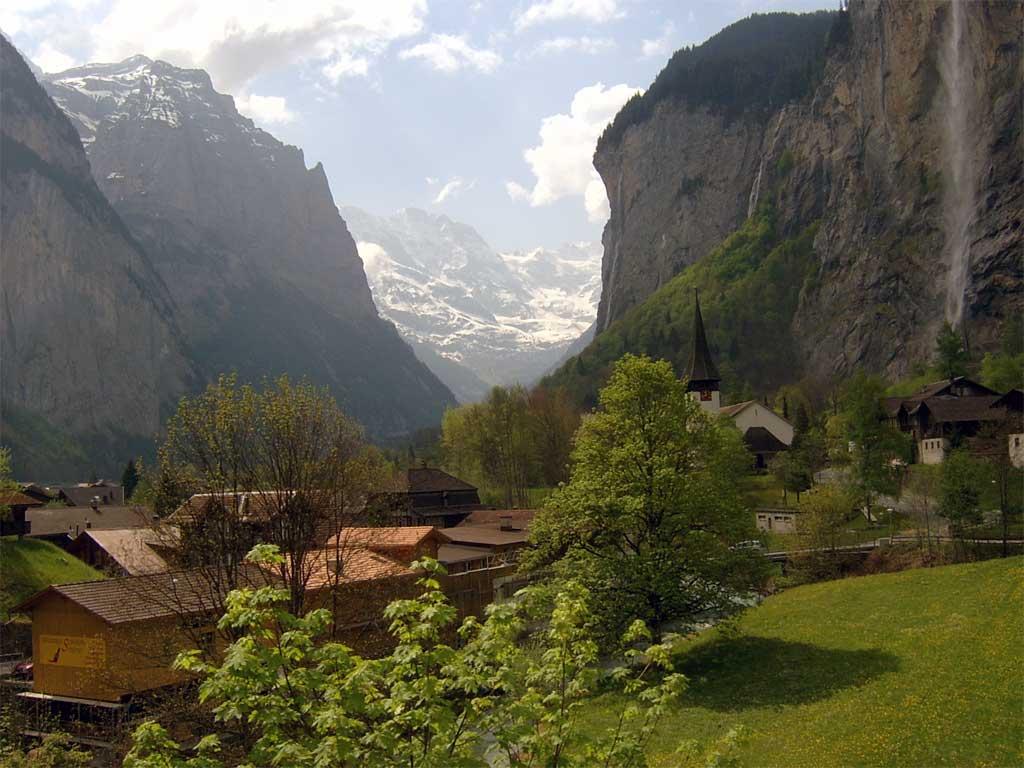 Швейцария, долината на Венген