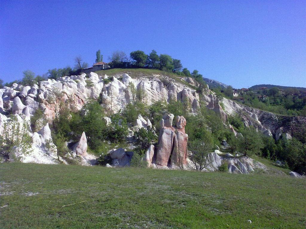 скалният феномен Каменна сватба
