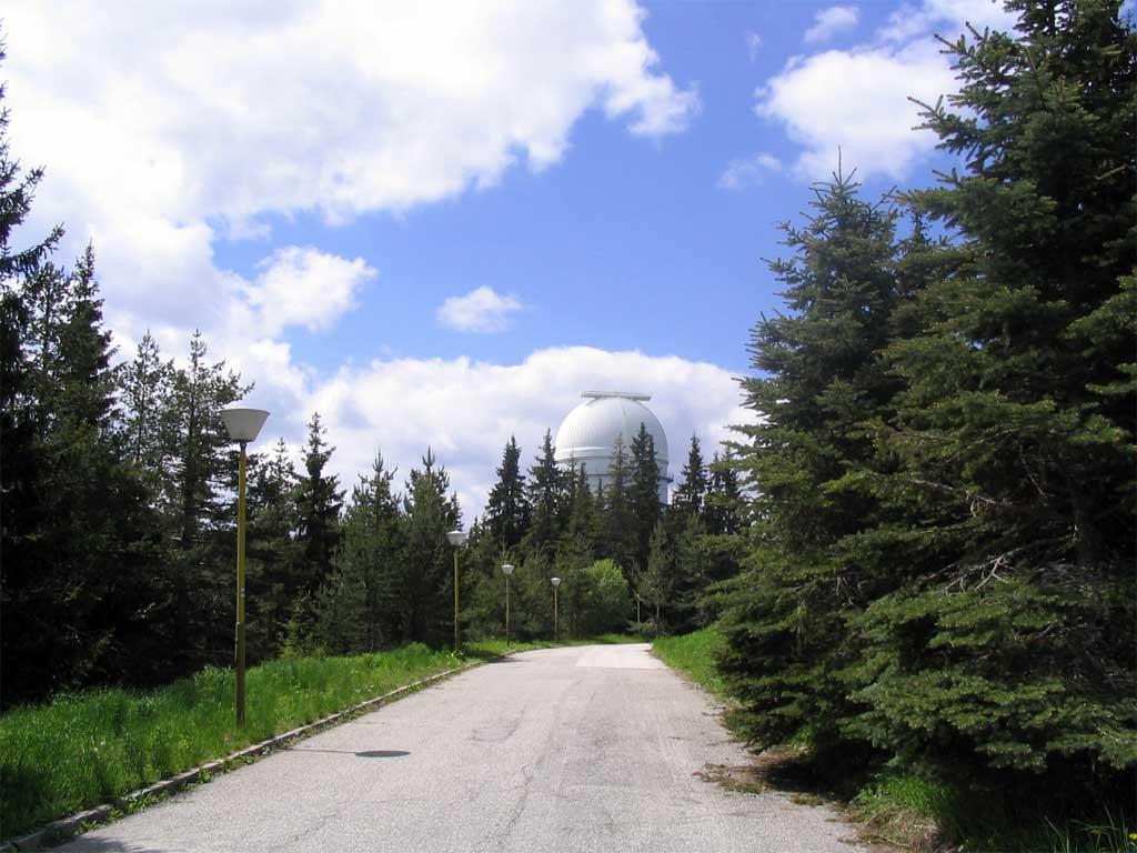 Космическата обсерватория на връх Рожен