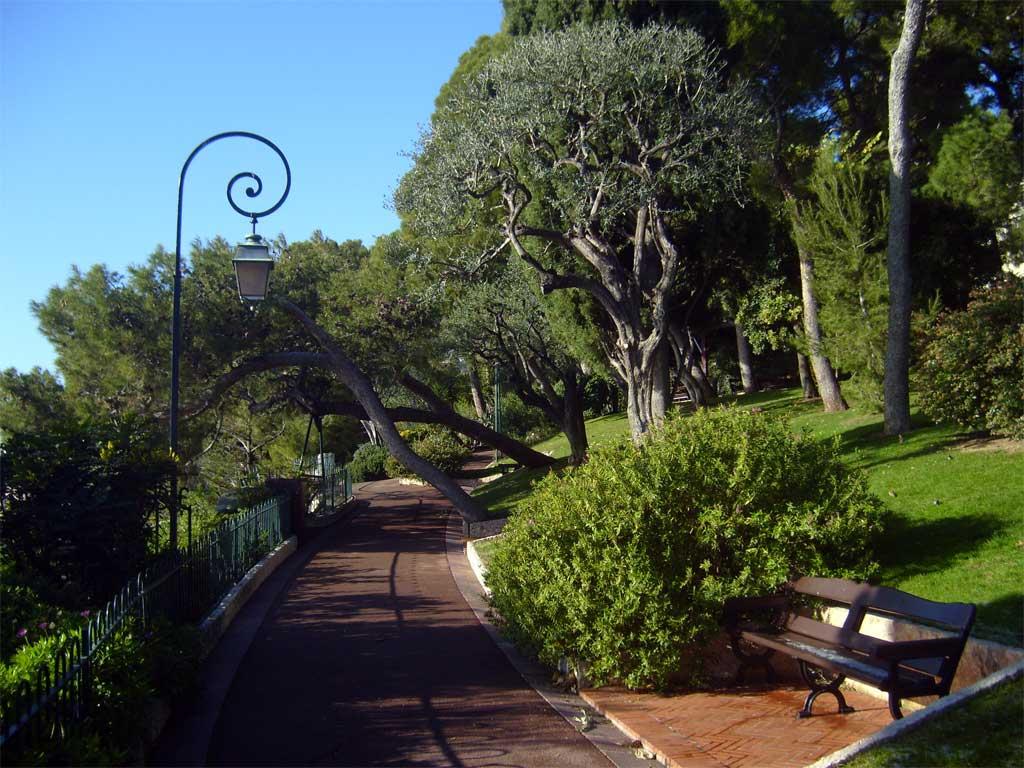Градината на Океанографския музей в Монако