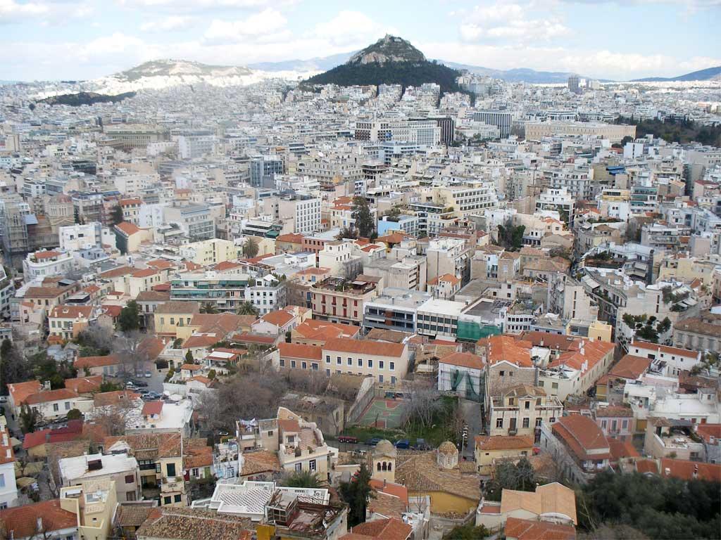 Атина - поглед от Акропола