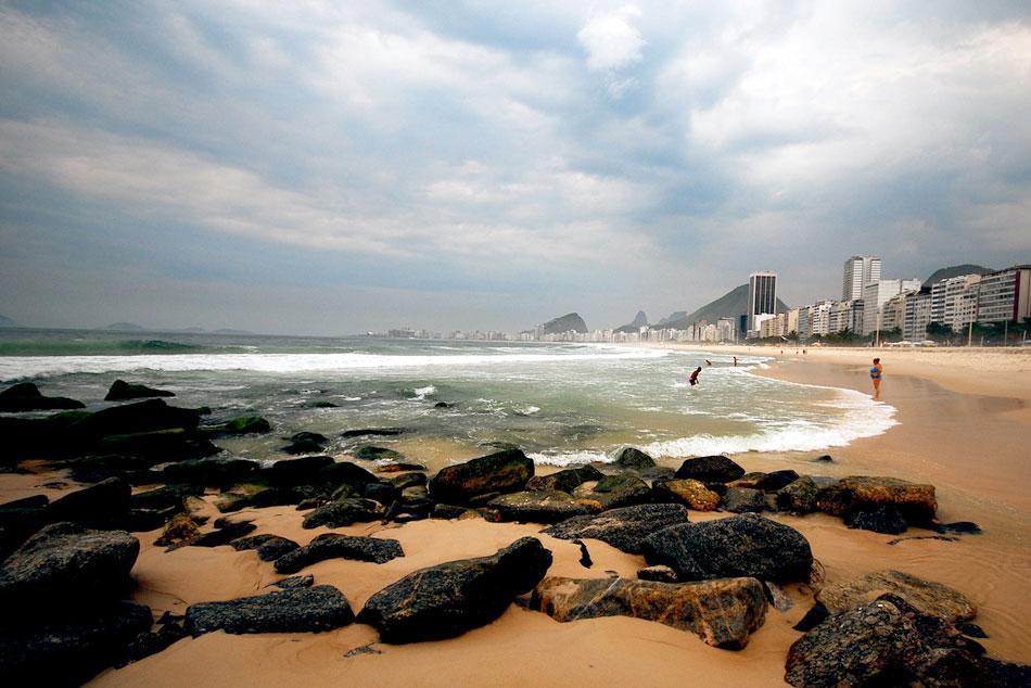 Рио де Жанейро - Плажът Капокабана