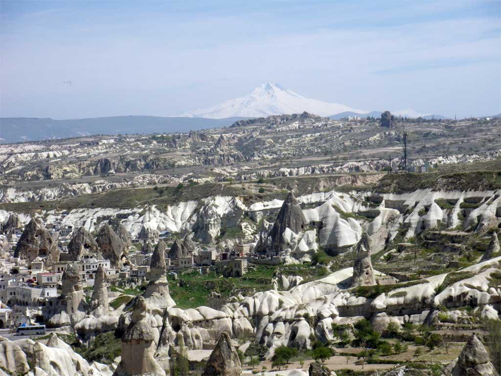 Селището Гьореме в областта Кападокия, Турция