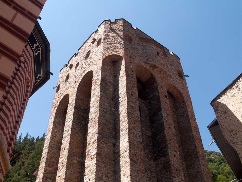Хрельовата кула в Рилския манастир