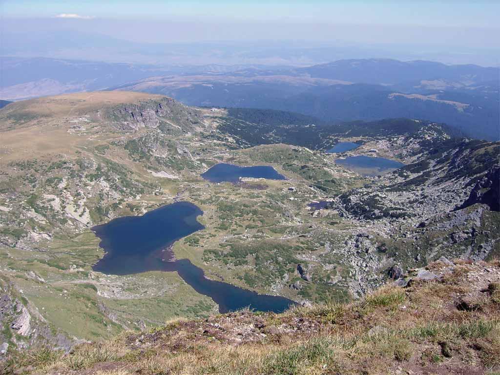 Седемте рилски езера езерния връх
