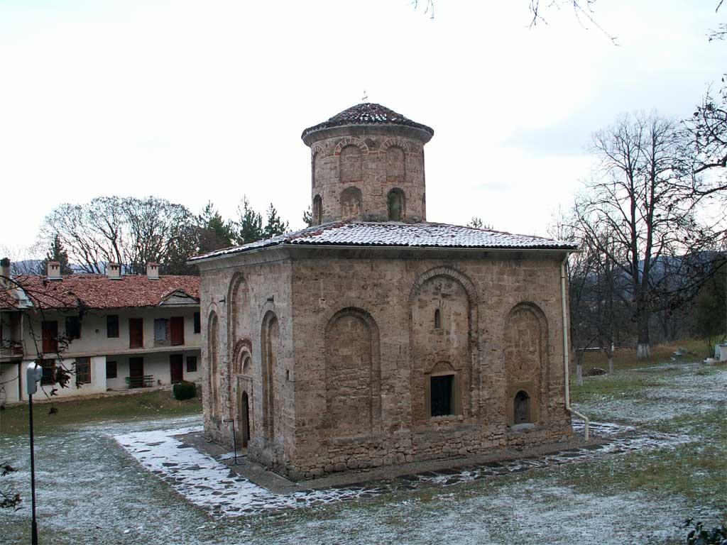 Църквата на Земенския манастир